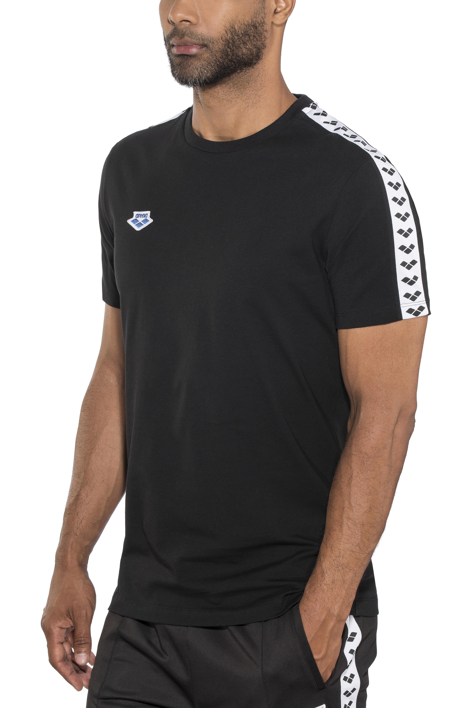 d5b30429d1 arena Team T-Shirt Homme, black-white-black - Toute la gamme à prix ...